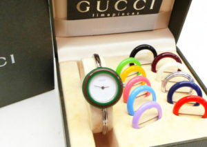 グッチ チェンジベゼル 腕時計  GUCCI Interchangeable Bezel Watch