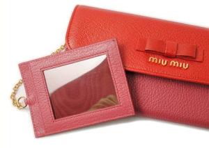 ミュウミュウ 付属品 カードケース