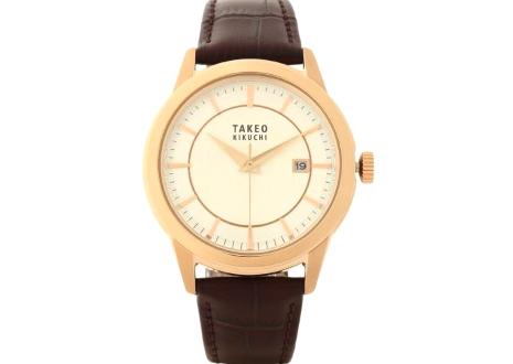 タケオキクチ 時計 高価買取