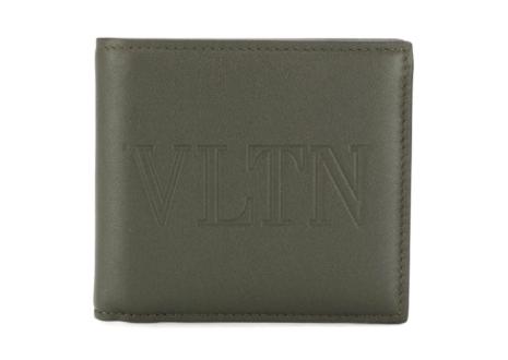 ヴァレンティノ VLTN 二つ折り 財布  VALENTINO VLTN BIFOLD WALLET