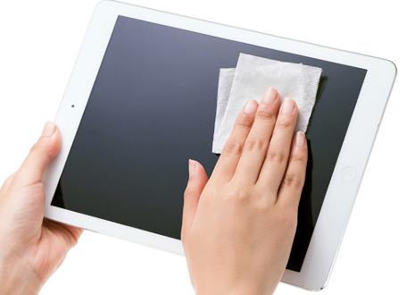 パソコンやタブレットの外見をキレイにするのが高価買取ポイント